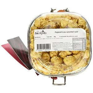COFFRET CADEAU EPICERIE - EPICERIE JOE - Seph`s Bocal de Pop-Corn Caramel Salé 500 ml