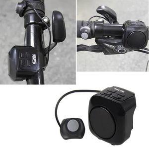 v/élo klaxon 120 DB Invisible Bicyclette v/élo de Route v/élo USB Mini Guidon de Cyclisme Alarme Fort klaxon sonner Anneau 22-31.8mm /étanche IP65 KOBWA V/élo /électrique klaxon v/élo Cloches