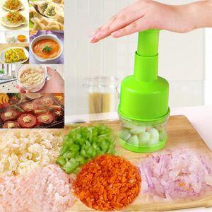 Chopper Pressage Coupe-légumes aliments oignons ail Trancheuse Peeler Dicer hachoir à viande