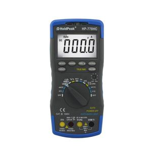 MULTIMÈTRE Holdpeak HP-770HC Multimètre numérique haute préci