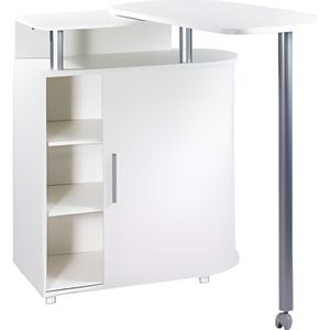 Meuble de cuisine avec table integree achat vente for Meuble table integree