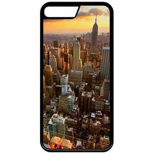 coque iphone 8 new york nuit noir et blanc