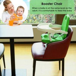 RÉHAUSSEUR SIÈGE  Chaise haute de bébé rehausseur réglable en hauteu