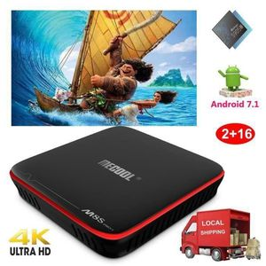 BOX MULTIMEDIA 2018 Android 7.1 Nougat Amlogic S905W Quad Core 2+