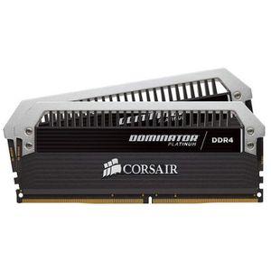 MÉMOIRE RAM Corsair Dominator Platinum DDR4 16Go (2x8Go) 3000M