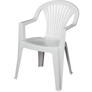 Lot De Chaise De Jardin En Plastique