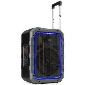 ENCEINTE NOMADE Enceinte portable - auna Spencer - éclairage LED &