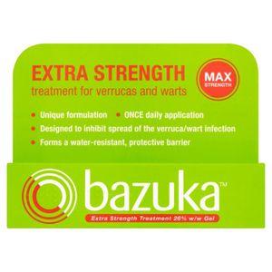 AGRESSION CUTANÉE  Bazuka Extra Strength Gel 6g