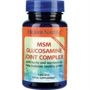COMPLÉMENT ARTICULATION Complexe Higher Nature Glucosamine MSM Joint 90 co