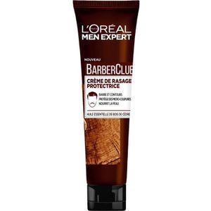 MOUSSE À RASER - GEL MEN EXPERT Crème de rasage protectrice BarberClub