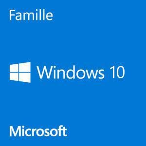 SYSTÈME D'EXPLOITATION Microsoft Windows 10 Famille 64 bits OEM Get Genui