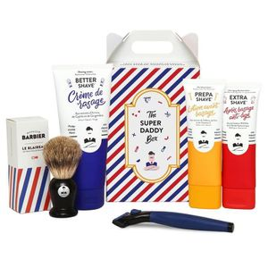 KIT RASAGE MONSIEUR BARBIER Coffret de rasage Super Daddy