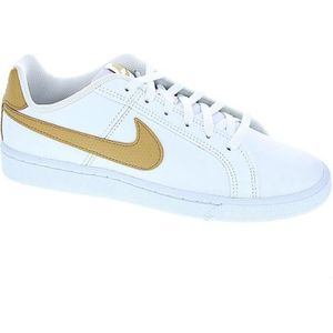 BASKET Baskets - Nike Court Royale  Garçon  Blanc