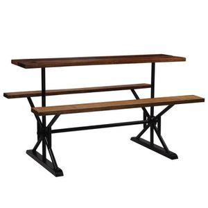 MANGE-DEBOUT Table de bar, Table de bistro, Table Haute, Table