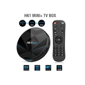 BOX MULTIMEDIA Smart TV Box Android 9.0- HK1 MINI + -Box Multiméd