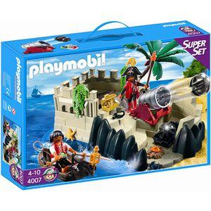 UNIVERS MINIATURE Playmobil Superset Repère Des Pirates