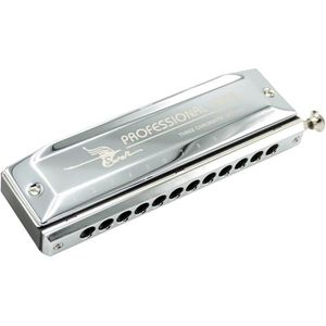 HARMONICA Harmonica chromatique 12 trous, finition chromée,