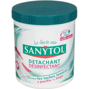 DÉTACHANT TEXTILE SANYTOL Désinfectant détachant - 450g