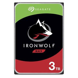 DISQUE DUR INTERNE SEAGATE - Disque dur Interne - NAS Iron Wolf - 3To