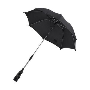 clip porte-parapluie r/églable Sun Canopy poussette landau rayons UV soleil pluie parapluie Parasol de soleil pour poussette