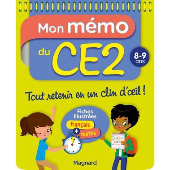 Mon Memo Du Ce2 8 9 Ans Achat Vente Livre Parution Pas