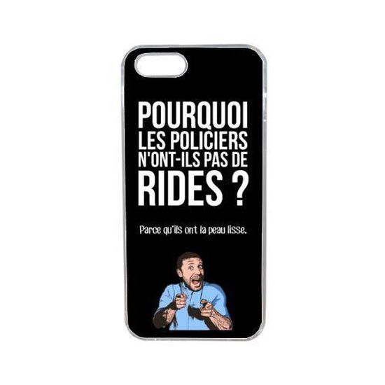 coque blague papa 51 compatible iphone 5s transp