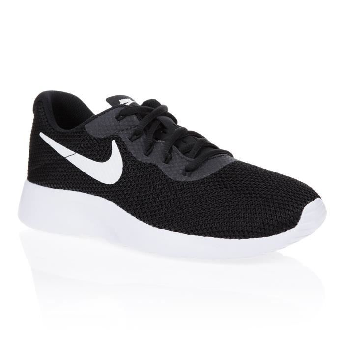 top design buying cheap wholesale online NIKE Baskets Tanjun Racer - Femme - Noir et Blanc