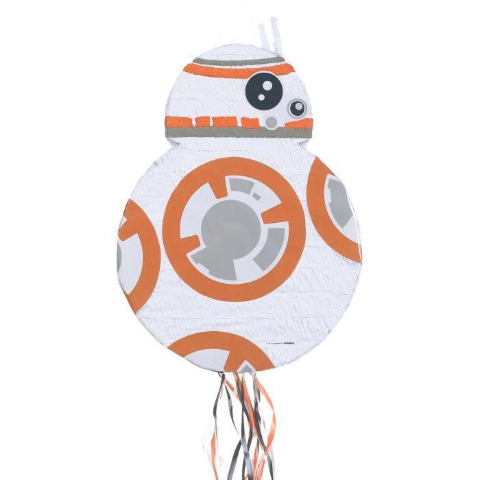 Pinata à ficelles Star Wars BB-9 en papier et plastique - 35,5 x 46 x 13,5 cm - 9903152