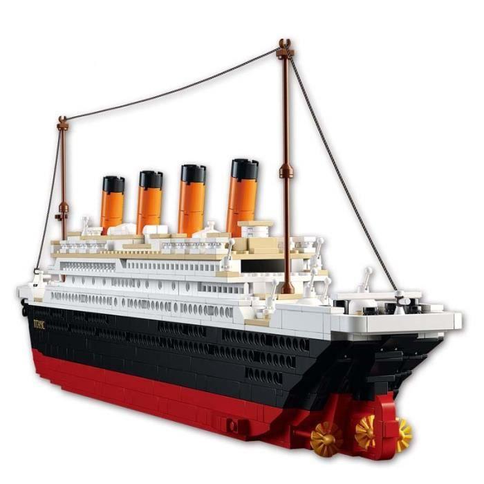 1012 pièces City Titanic RMS bateau de croisière 3D modèle kits blocs de construction classique film scène loisirs jouet éducatif
