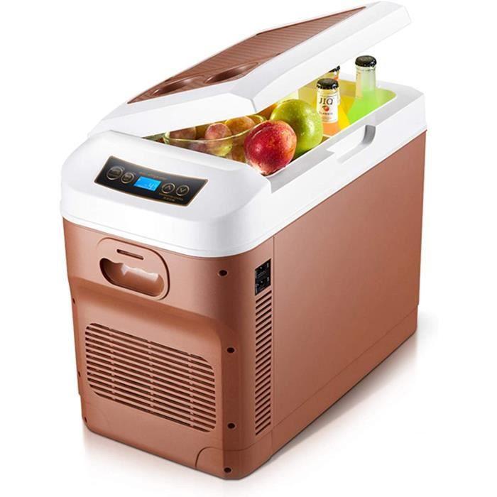 Frigo RéFrigéRateur Congelateur Glaciere Mini Réfrigérateur 12V-24V - 220V-240V de voiture réfrigérateur de voiture Cooler Box [33]