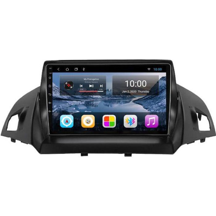 RoverOne Autoradio GPS Bluetooth pour Ford Kuga Escape 2013 2014 2015 2016 2017 Android Stéréo Navigation WiFi Écran Tactile