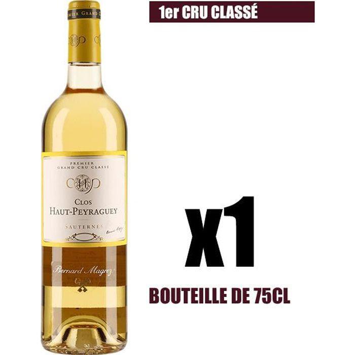 X1 Clos Haut-Peyraguey 2012 75 cl AOC Sauternes 1er Cru Classé Vin Blanc Liquoreux