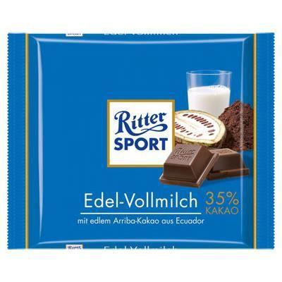 Ritter Sport Lait [Tablette de 100g]