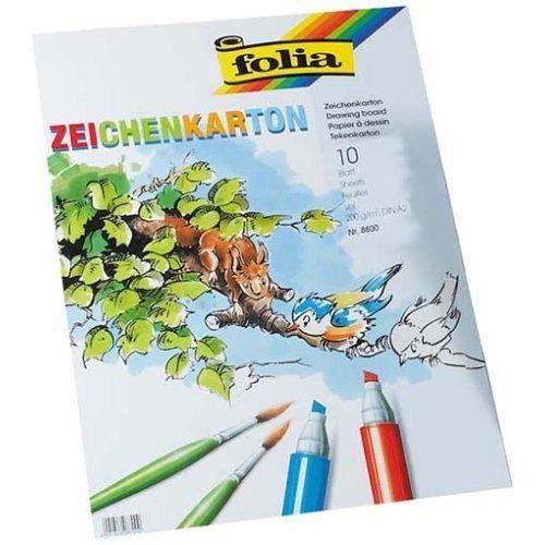 Bringmann 8800 Folia Papier a dessin A2 10 feuilles (Import Allemagne)
