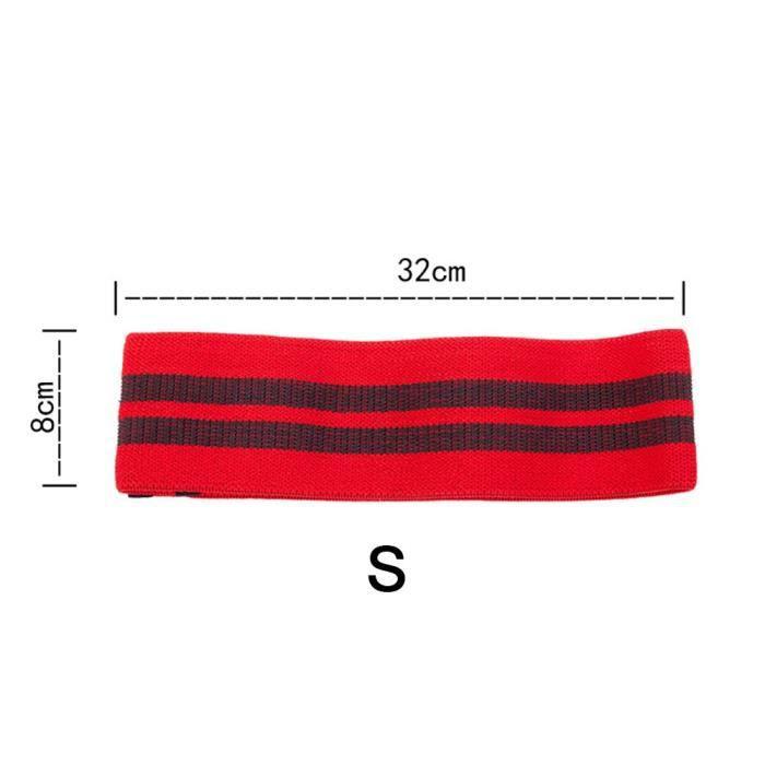 3 couleurs Yoga résistance hanche-cou bande élastique Squat résistance bande Yoga Fitness entraînement - Modèle: S - HSJSTLDC03697