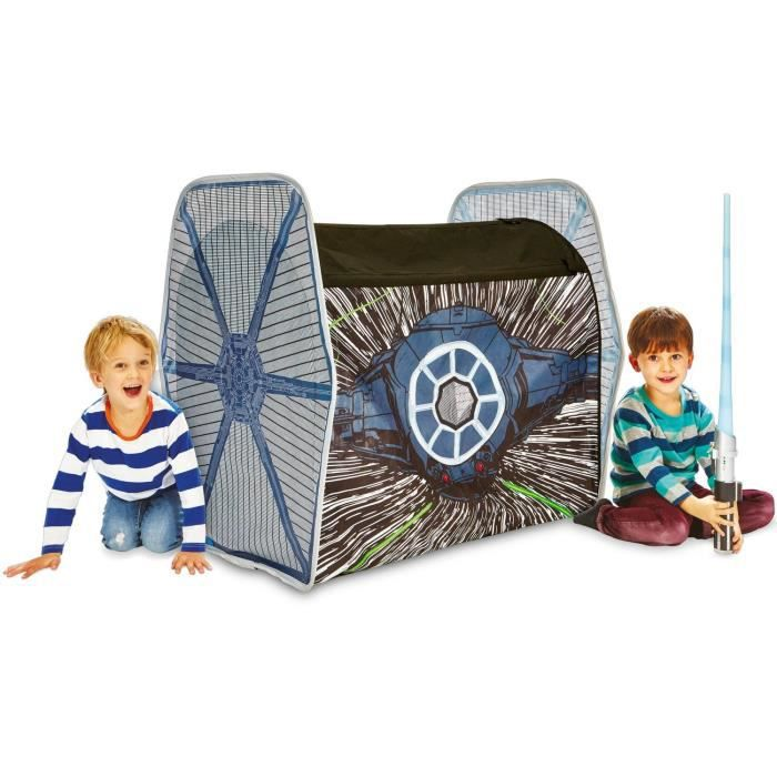STAR Vaisseau WARS Tie Fighter Role Play Tente enfant de Jeu GetGo - Worlds Apart