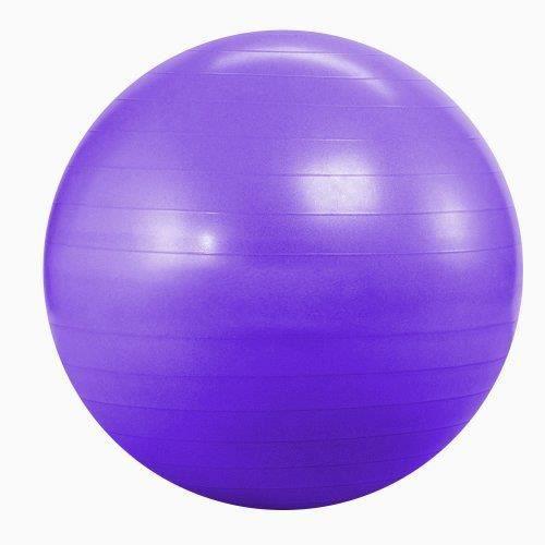 Kabalo Violet 65cm ANTI BURST GYM exercice Yoga SWISS ballon de fitness pour femmes enceintes accouchement, etc.)