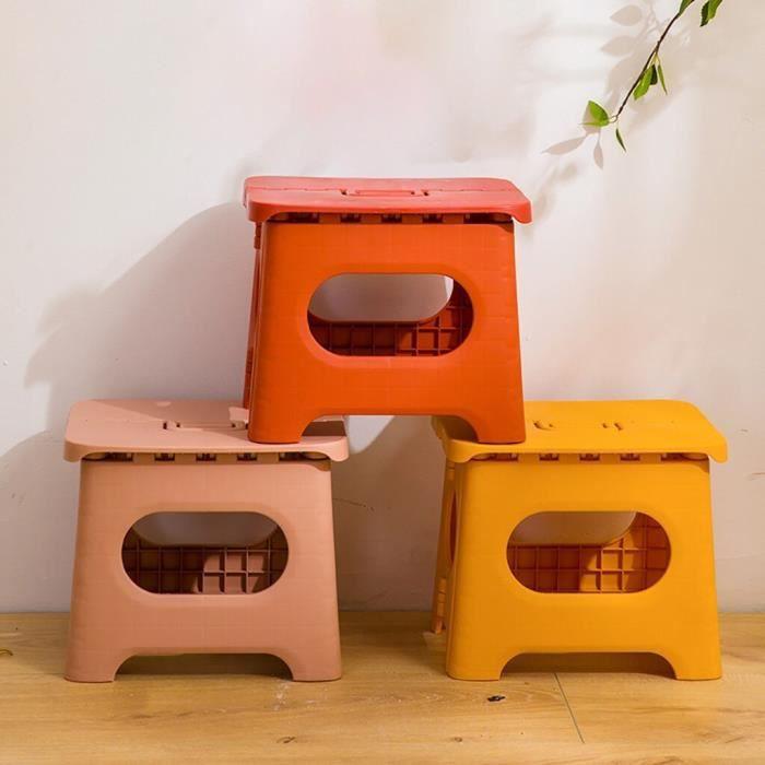 Tabouret pliant Portable extérieur ménage salle de bain multi-usages pliable Portable tabouret enfant enfant chaise tabouret pliant