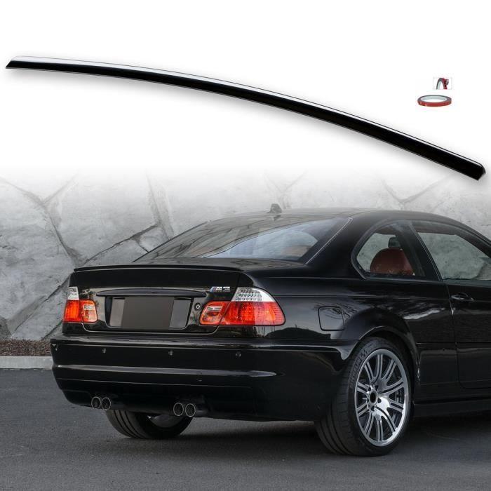 BECQUET DE COFFRE LOOK M3 NOIR BRILLANT POUR BMW SERIE 3 E46 COUPE DE 1999 A 2006