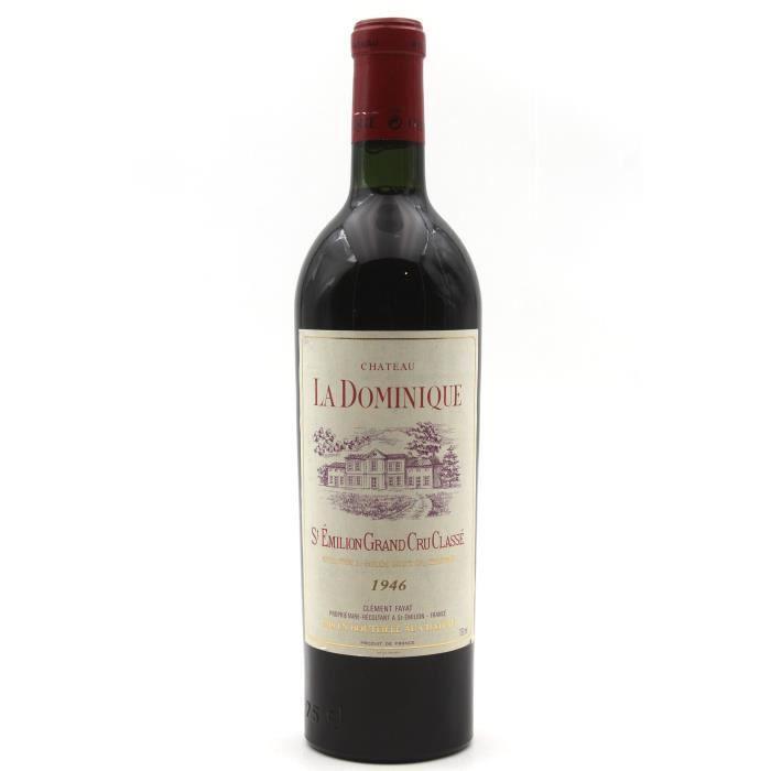 Château La Dominique 1946 Vin Rouge 75cl AOC Saint-Émilion