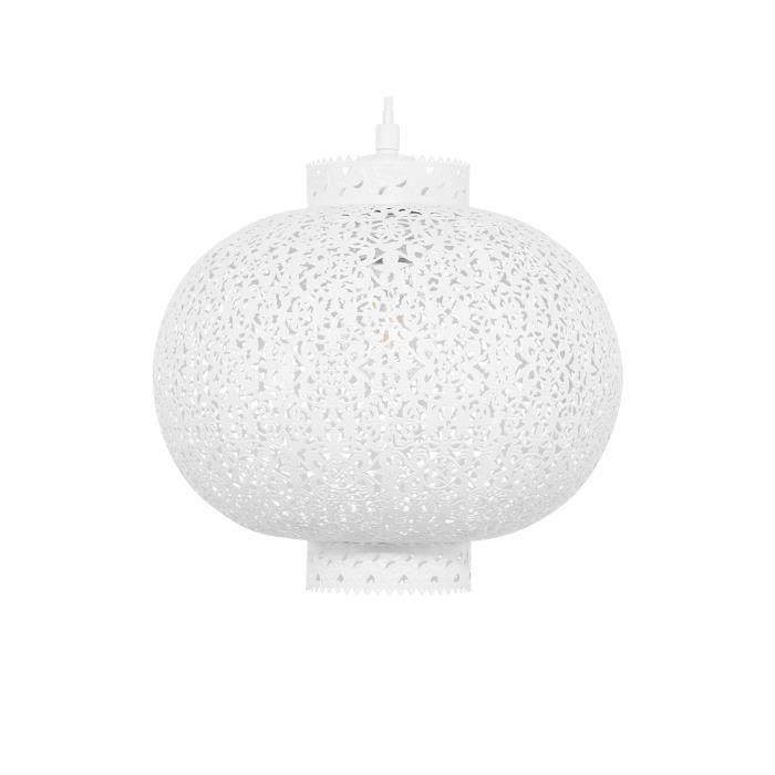 Lampe suspension blanche Meuse