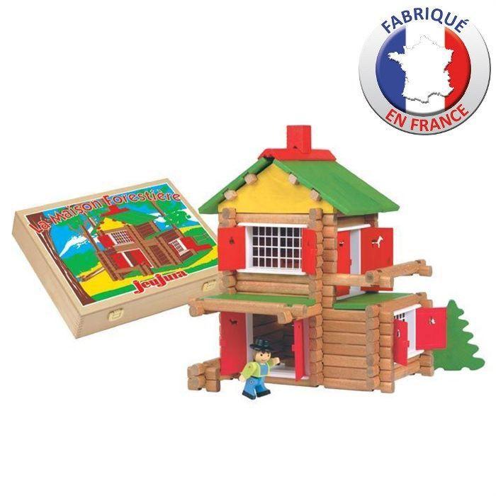JEUJURA Mon châlet en bois - 135 pièces - Coffret en bois