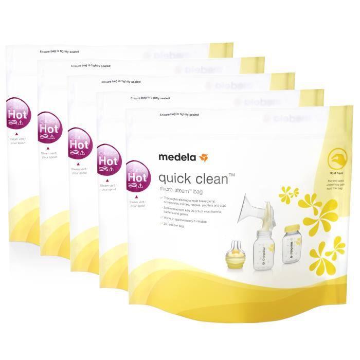 MEDELA Quick Clean™ sachets pour micro-ondes (5 sachets)