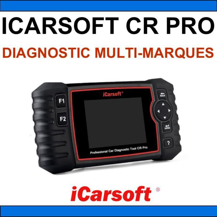 iCarsoft CR PRO 2019 - Valise Diagnostic - AUTOCOM DELPHI WOW SNOOPER KTS