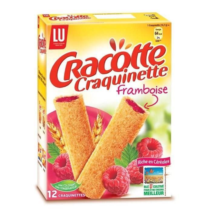 Craquinette framboise 200g Cracotte