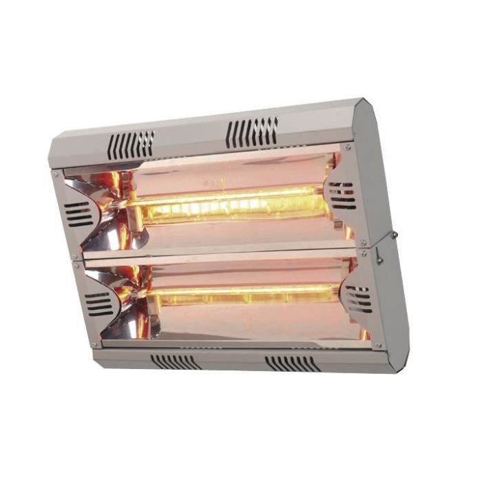 Chauffage infrarouge électrique 12-16m³ 4kW Moel MO792