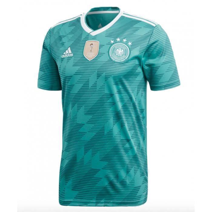 Maillot de football Allemagne Exterieur vert Coupe du Monde 2018 adidas