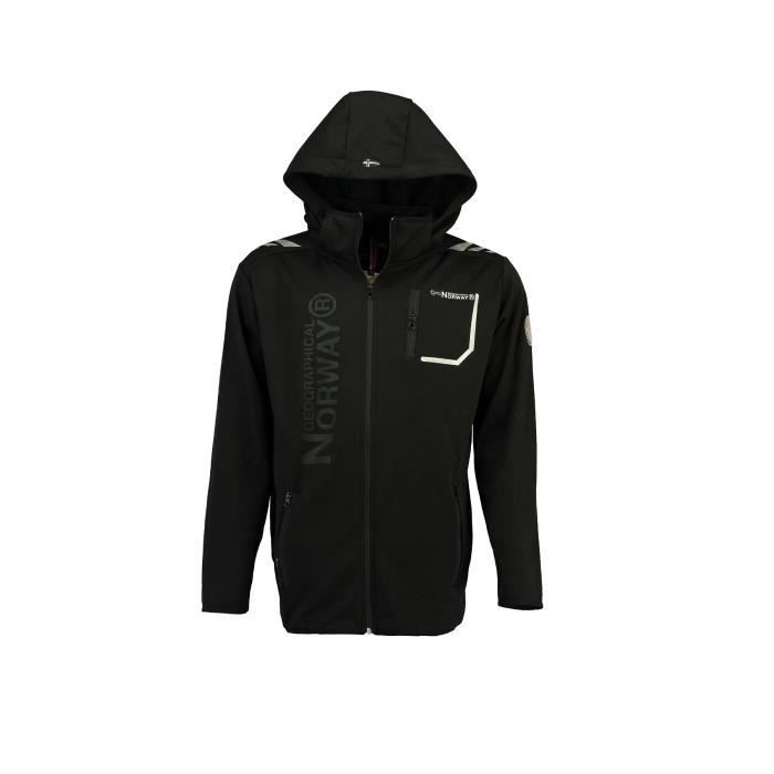Softshell Homme Geographical Norway Tortue Noir