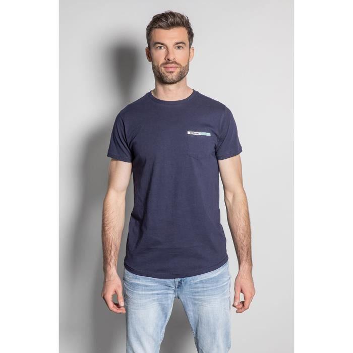 DEELUXE T-shirt logoté au dos JETSON Navy