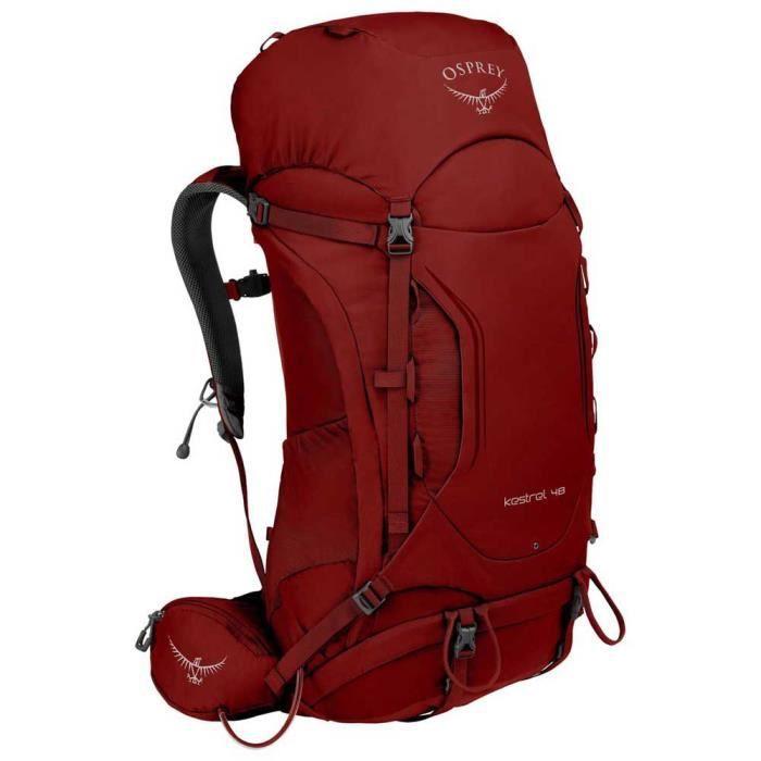 Sacs à dos et bagages Sacs à dos Osprey Kestrel 48l - Rouge -MS
